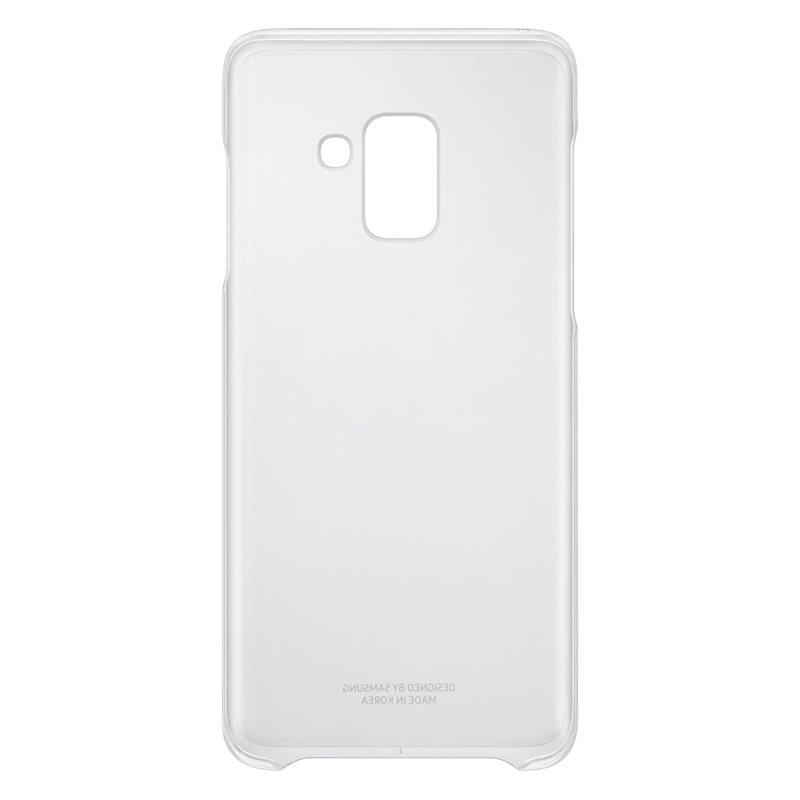 Capac protectie spate Clear Cover Samsung EF-QA530 pentru Galaxy A8 2018 (A530) Transparent