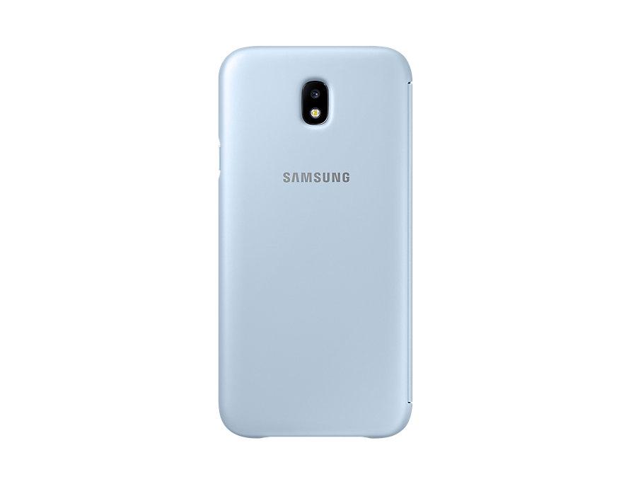 Husa Wallet Cover Samsung EF-WJ730 pentru Galaxy J7 2017 Blue title=Husa Wallet Cover Samsung EF-WJ730 pentru Galaxy J7 2017 Blue