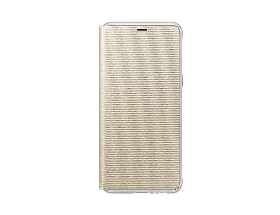 Husa Flip Cover Samsung EF-FA530 pentru Galaxy A8 2018 (A530) Gold title=Husa Flip Cover Samsung EF-FA530 pentru Galaxy A8 2018 (A530) Gold