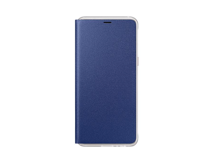 Husa Flip Cover Samsung EF-FA530 pentru Galaxy A8 2018 (A530) Blue title=Husa Flip Cover Samsung EF-FA530 pentru Galaxy A8 2018 (A530) Blue