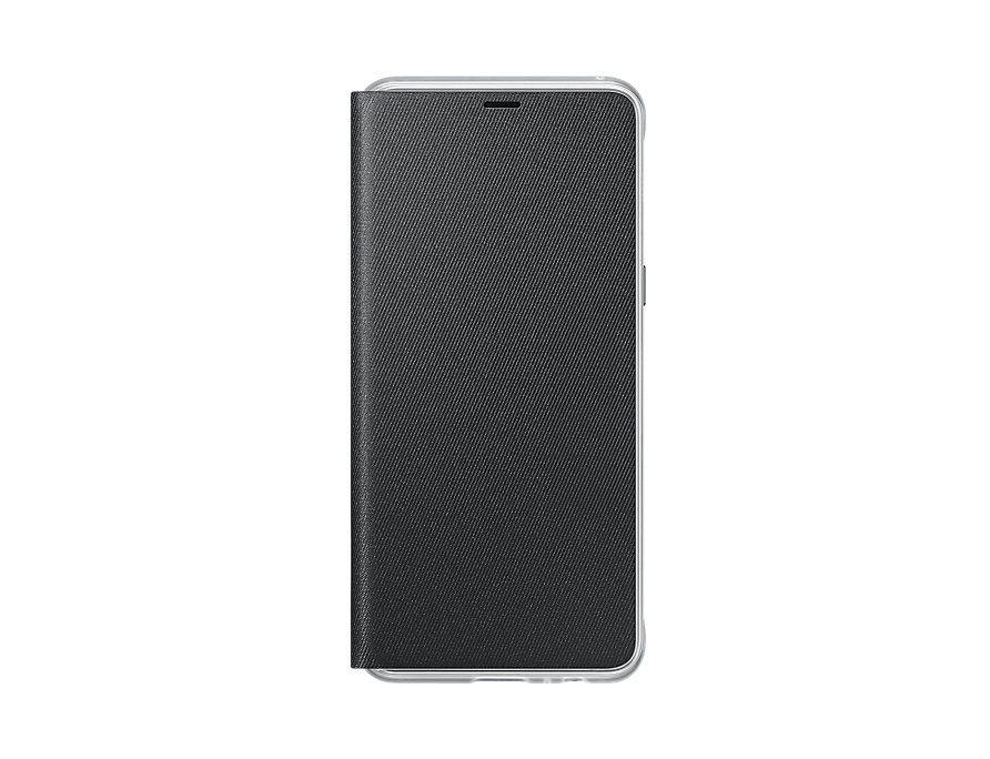 Husa Flip Cover Samsung EF-FA530 pentru Galaxy A8 2018 (A530) Black