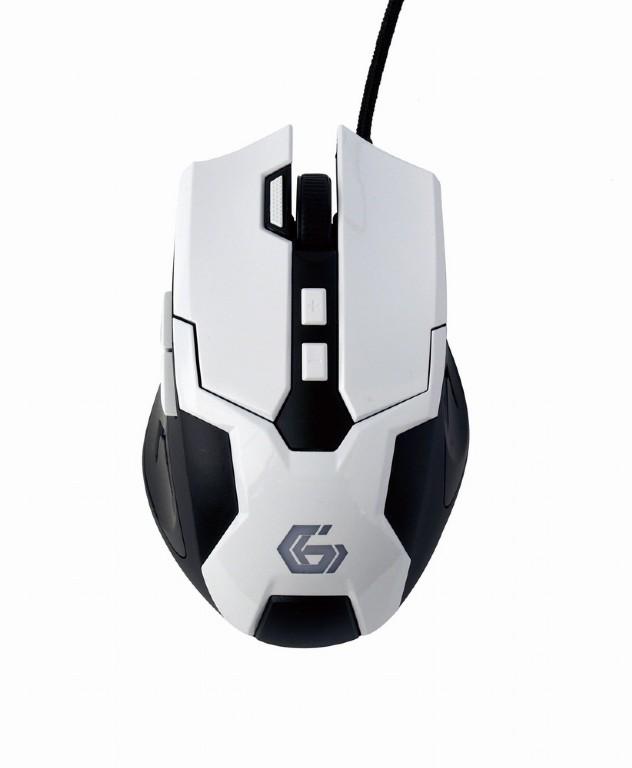 Mouse Gembird MUSG-04 Alb/Negru