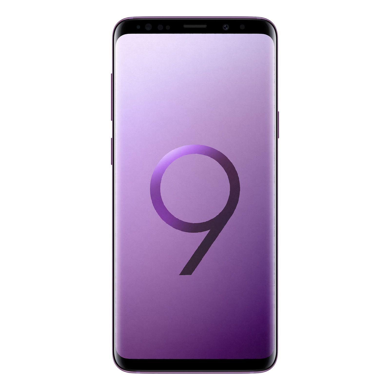 Telefon Mobil Samsung Galaxy S9 Plus G965F 64GB Flash 6GB RAM Dual SIM 4G Lilac Purple