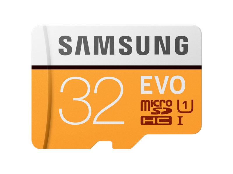 Card de memorie Samsung EVO MicroSDHC 32GB Clasa 10