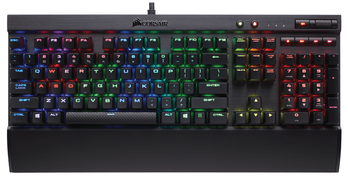 Tastatura Gaming Corsair K70 RGB Rapidfire Mecanica Cherry MX Speed