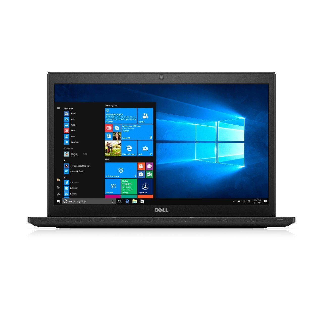 Ultrabook Dell Latitude 7480 14 Full HD Intel Core i5-7200U RAM 8GB SSD 256GB Windows 10 Pro