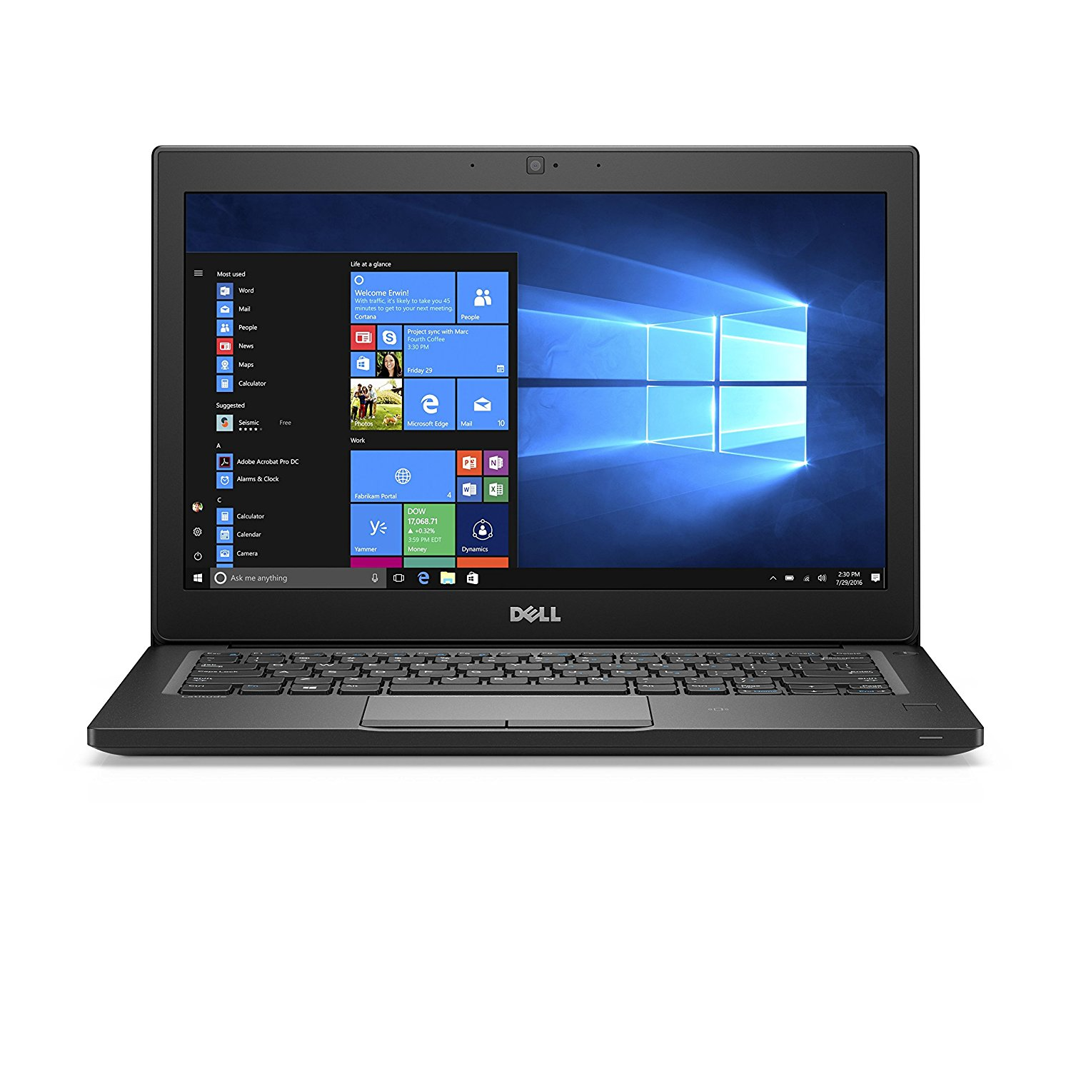 Ultrabook Dell Latitude 7280 12.5 Full HD Intel Core i7-7600U RAM 16GB SSD 512GB Windows 10 Pro