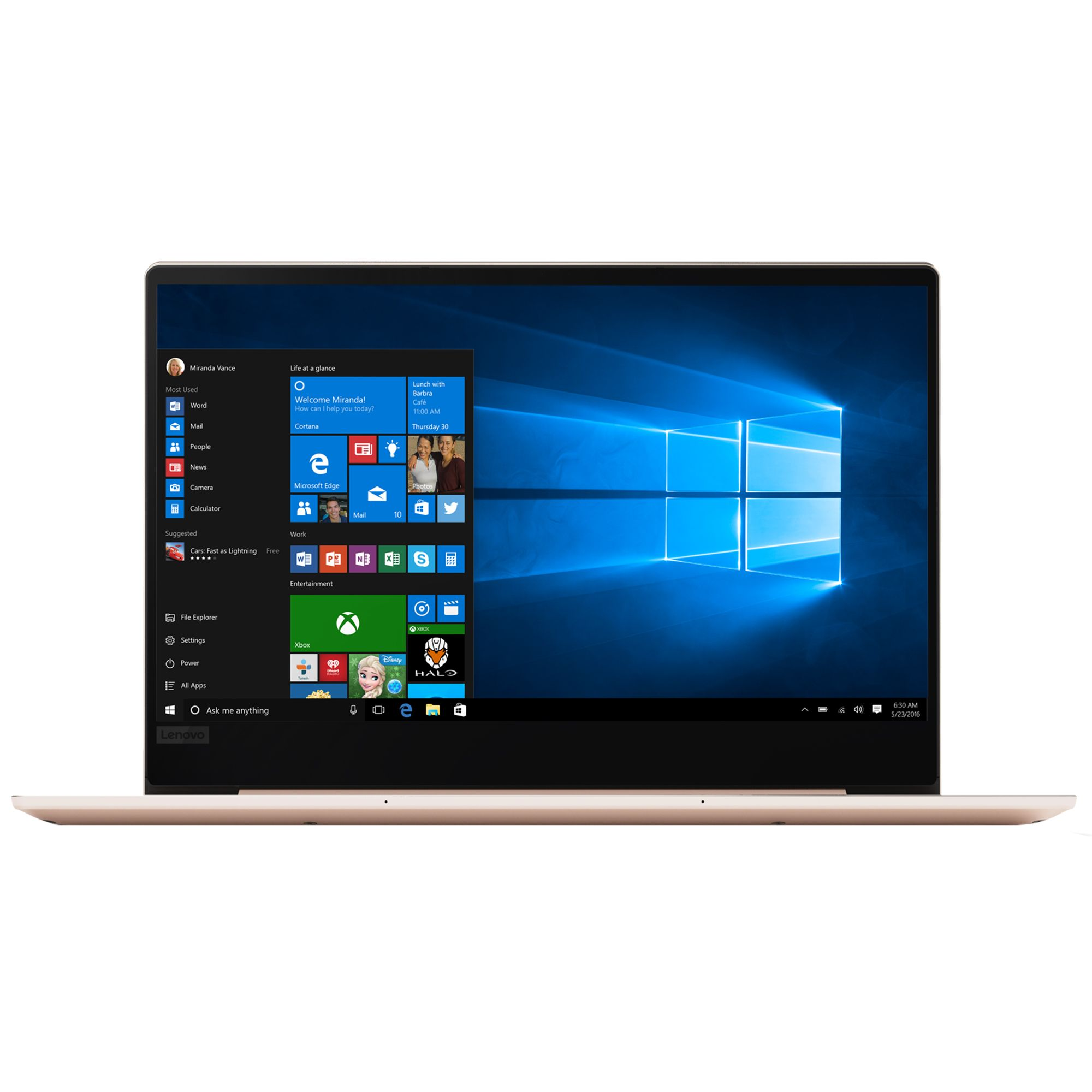 Ultrabook Lenovo IdeaPad 720S 13.3 Full HD Intel Core i7-8550U RAM 8GB SSD 512GB Windows 10 Home Auriu