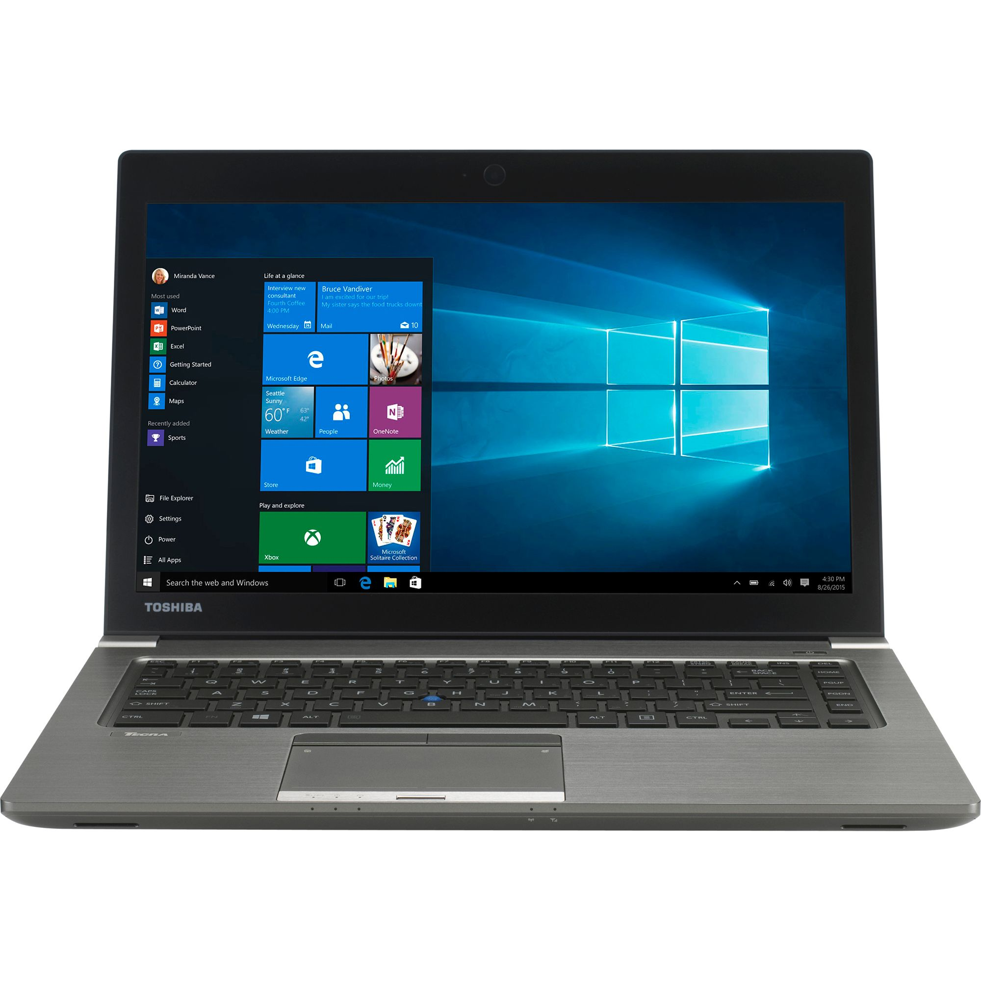 Ultrabook Toshiba Tecra Z40-C 14 Full HD Intel Core i5-6200U RAM 8GB SSD 256GB Windows 10 Pro