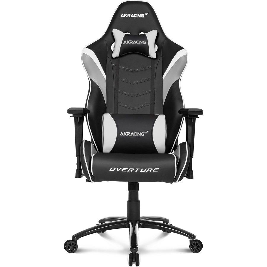 Scaun Gaming AKRacing Overture Alb