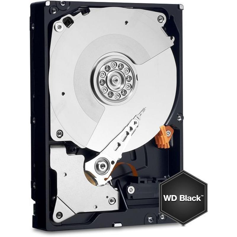 Hard Disk Desktop Western Digital WD Black 4TB 256MB SATA III