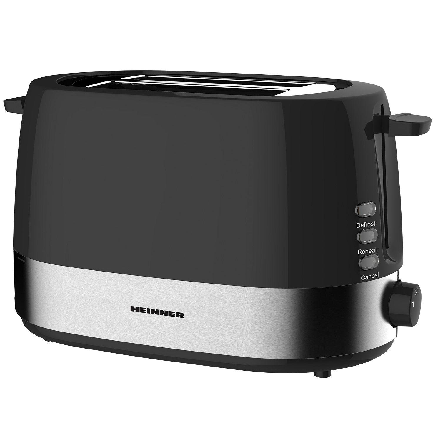 Prajitor de paine Heinner HTP-850BK 850W Negru