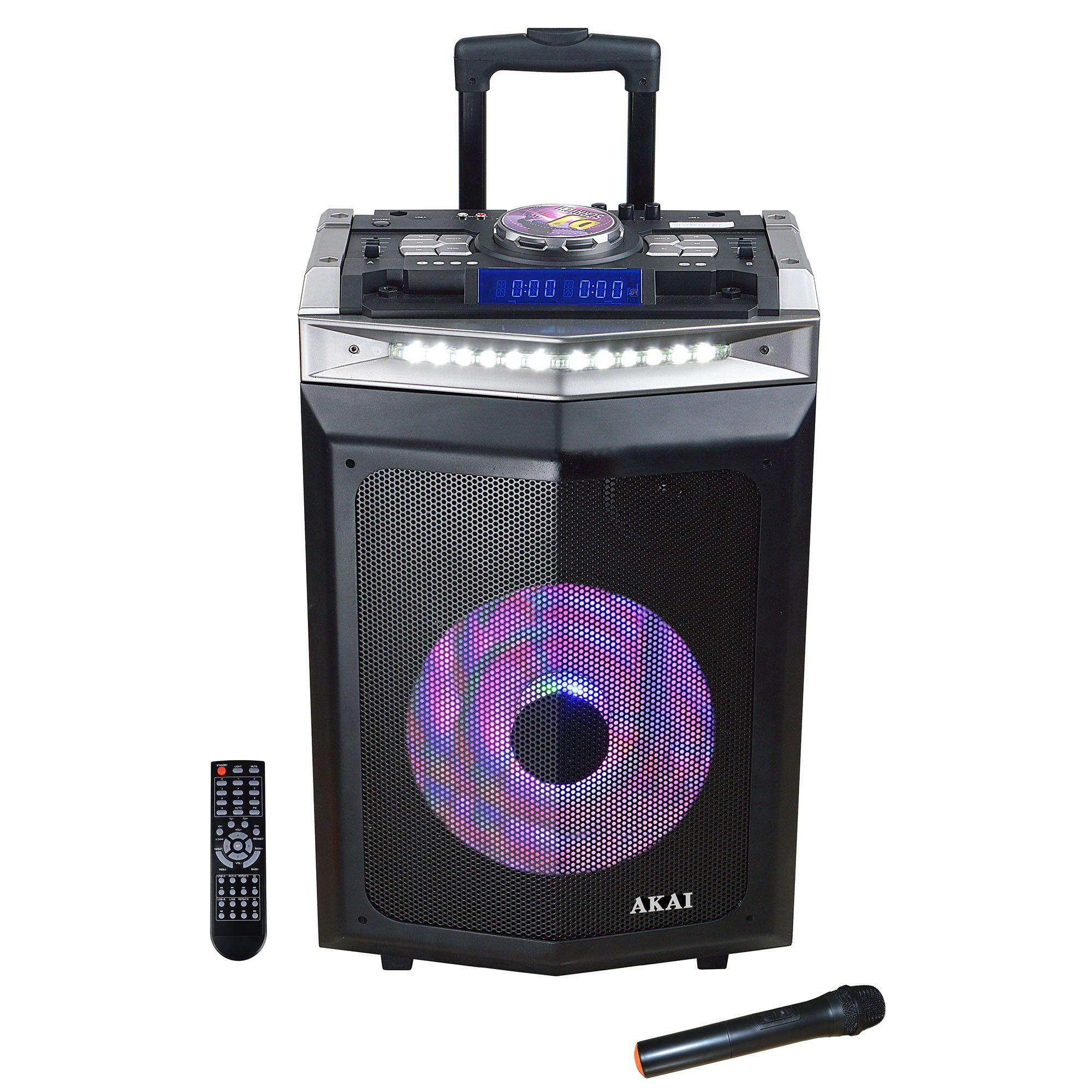 Boxa Portabila AKAI DJ-6112BT Bluetooth DJ Mixer 120W