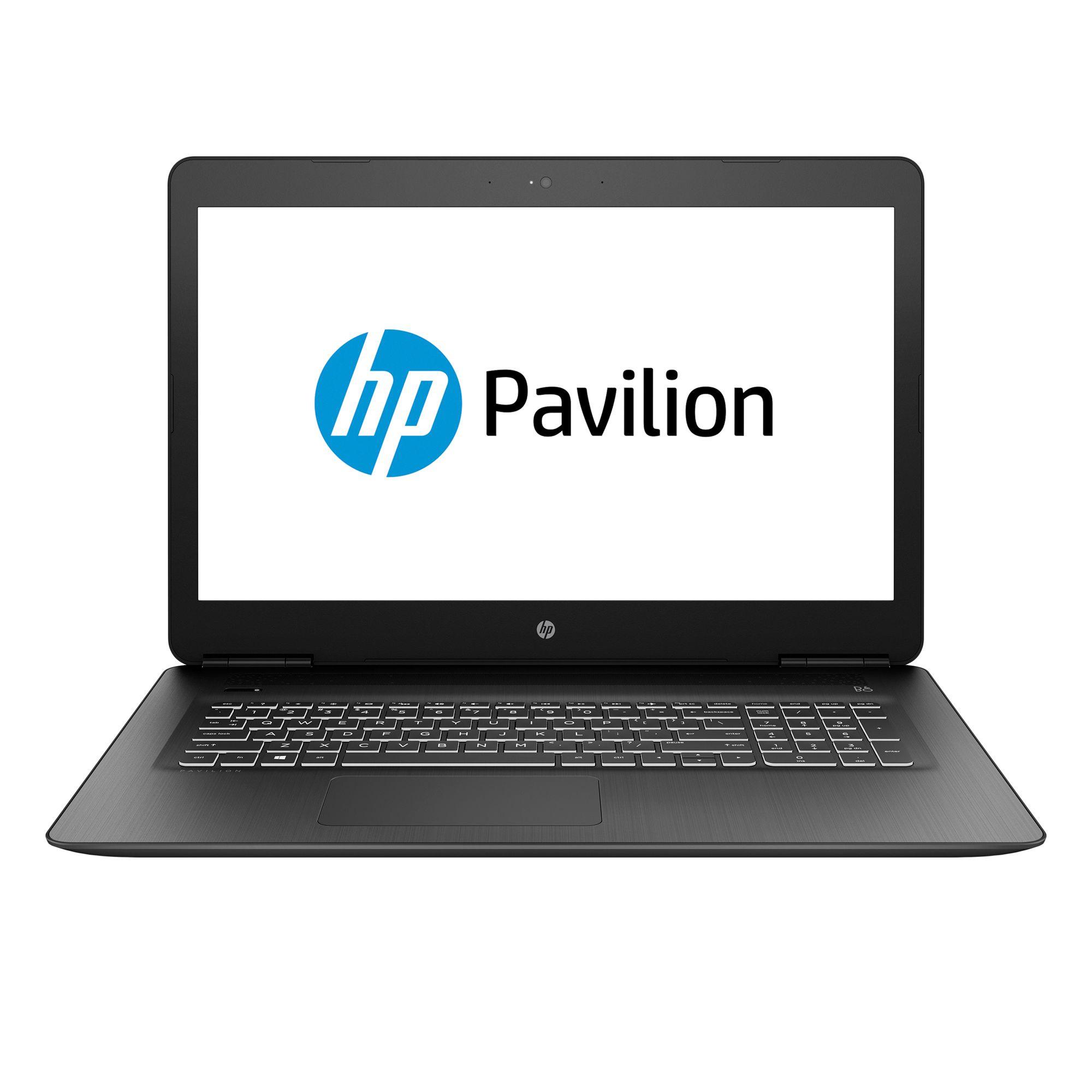 Notebook HP Pavilion 17 17.3 Full HD Intel Core i7-7700HQ GTX 1050 Ti-4GB RAM 12GB HDD 1TB + SSD 128GB FreeDOS