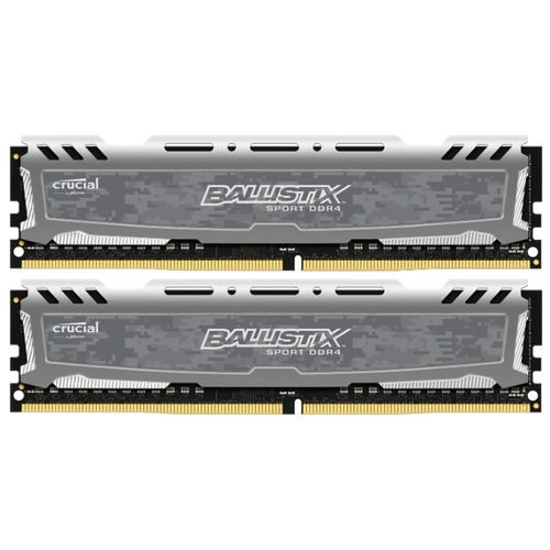 Memorie Desktop Crucial Ballistix Sport LT 8GB(2 x 4GB) DDR4 266MHz Gray