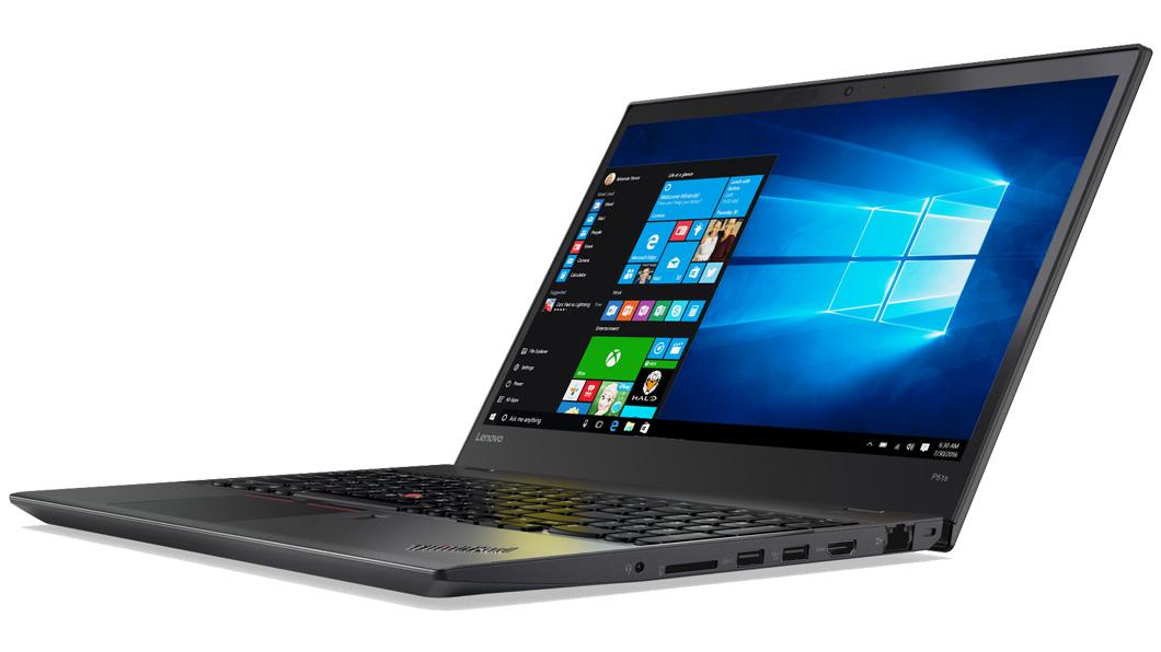 Notebook Lenovo ThinkPad P51S 15.6 Full HD Intel Core i7-7600U M520M-2GB RAM 16GB SSD 512GB Windows 10 Pro