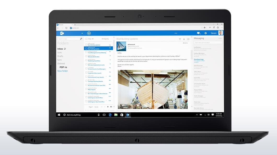 Notebook Lenovo ThinkPad E470 14 Full HD Intel Core i5-7200U RAM 4GB HDD 500GB Windows 10 Pro