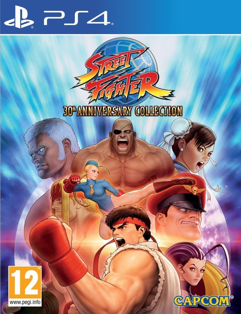 Street Fighter 30 Anniversary Collection - PS4