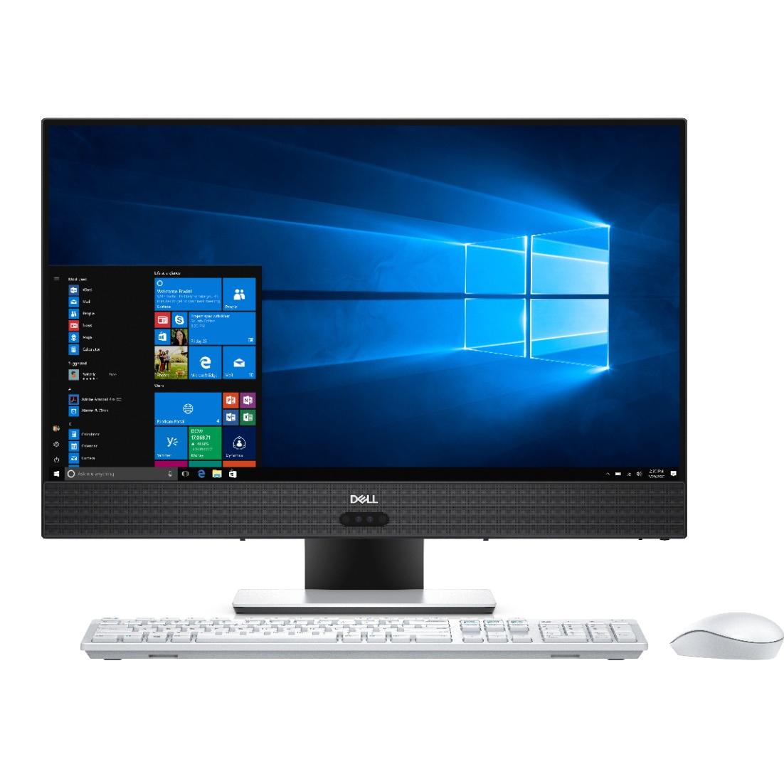 Sistem All-In-One Dell Inspiron 5475 23.8 Full HD Touch AMD A10-9700E RX 560-4GB RAM 8GB HDD 1TB + SSD 128GB Linux