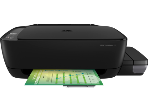 Multifunctional Inkjet Color HP Ink Tank Wireless 415