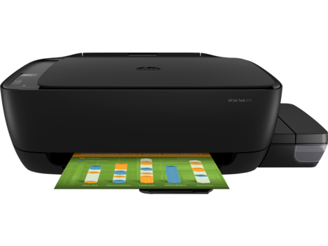 Multifunctional Inkjet Color HP Ink Tank 315
