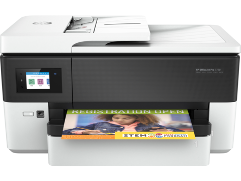 Multifunctional Inkjet Color HP OfficeJet Pro 7720