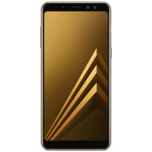 Telefon Mobil Samsung Galaxy A8 Plus (2018) 64GB Flash 4GB RAM Dual SIM Auriu