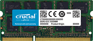 Memorie Notebook Micron Crucial CT102472BF160B 8GB DDR3L 1600MHz CL11