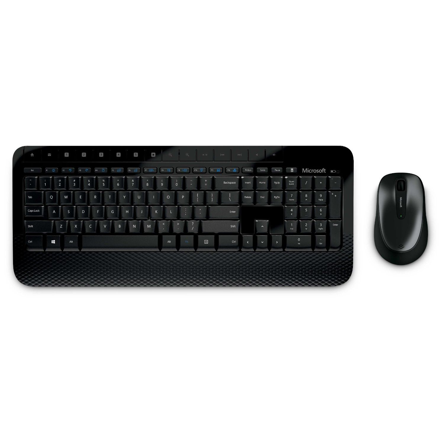 Kit Tastatura & Mouse Microsoft Desktop Media 2000 Black