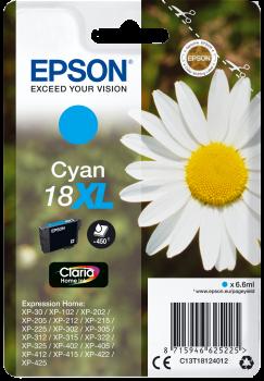 Cartus Inkjet Epson 18XL Cyan 450 pagini