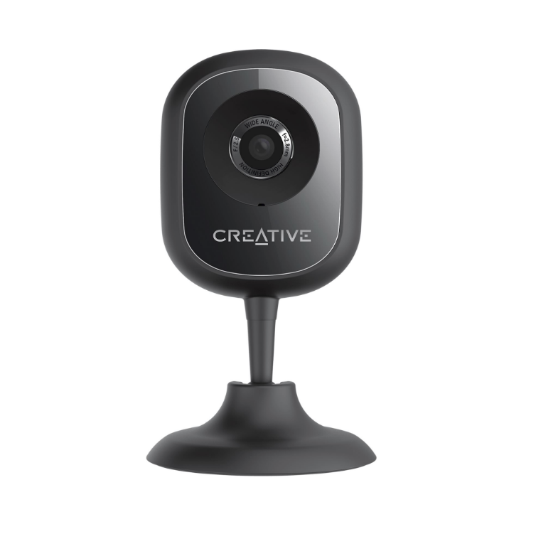 Camera Web Creative LIVE! CAM IP SmartHD Wi-Fi black