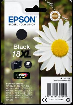 Cartus Inkjet Epson T1811 Black XL 470 pagini