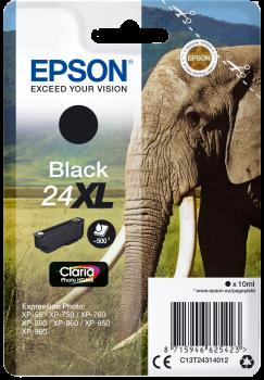 Cartus Inkjet Epson SinglePack 24XL Black 500 pagini