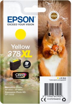 Cartus Inkjet Epson SinglePack 378XL Yellow