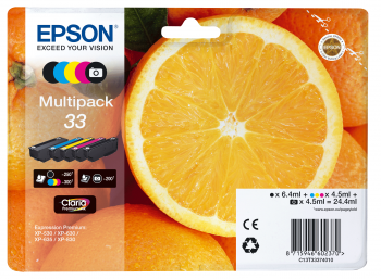 Cartus Inkjet Epson MultiPack 33 5 culori