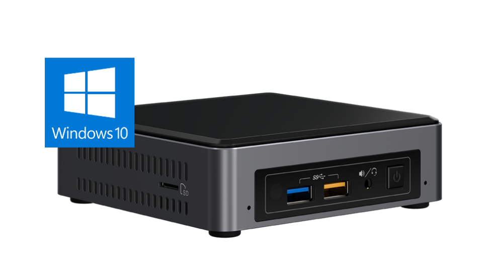 Barebone Intel NUC NUC7i7BNKQ Intel Core i7-7567U 8GB DDR4 512GB NVMe SSD Windows 10 Home