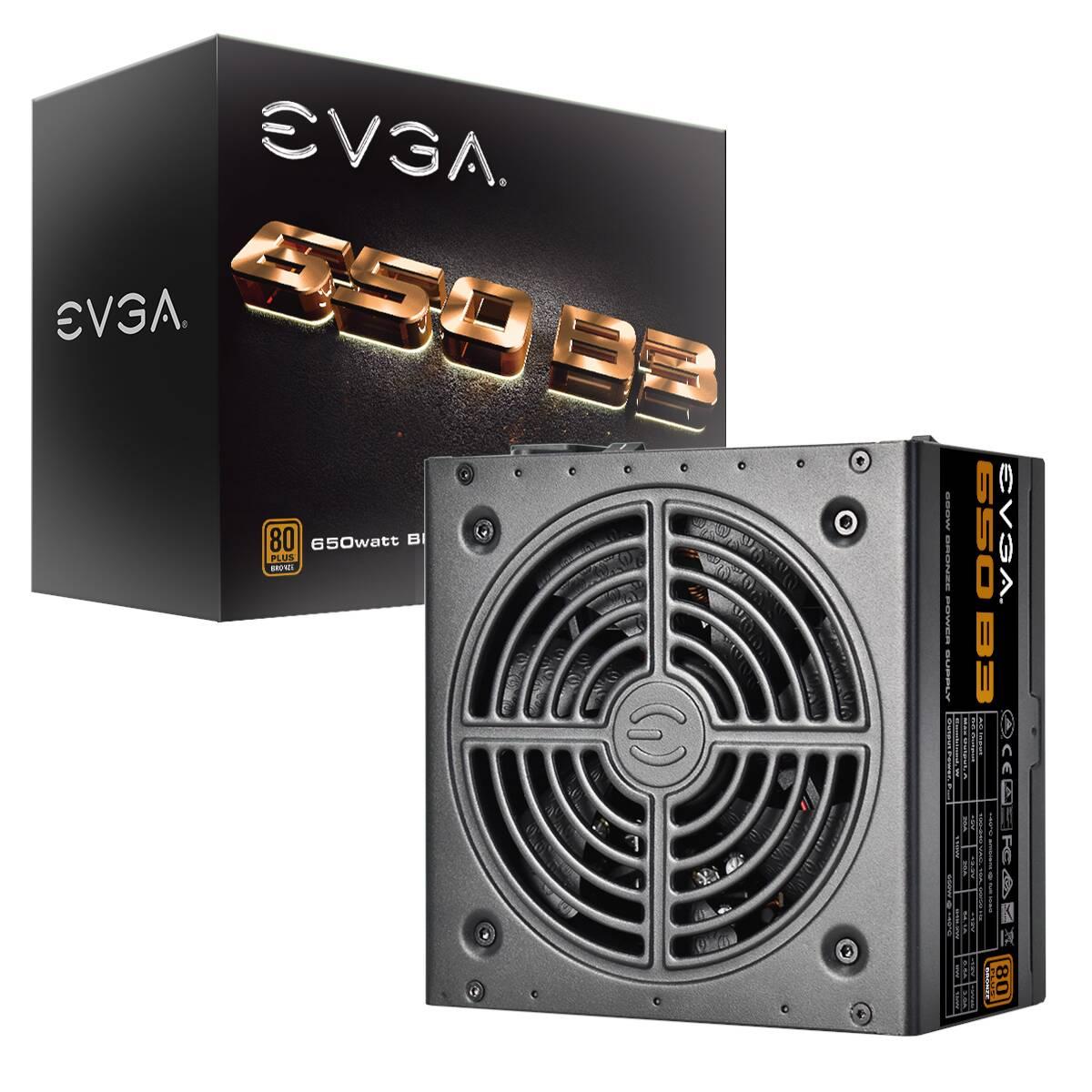 Sursa PC EVGA 650 B3 80 Plus Bronze 650W