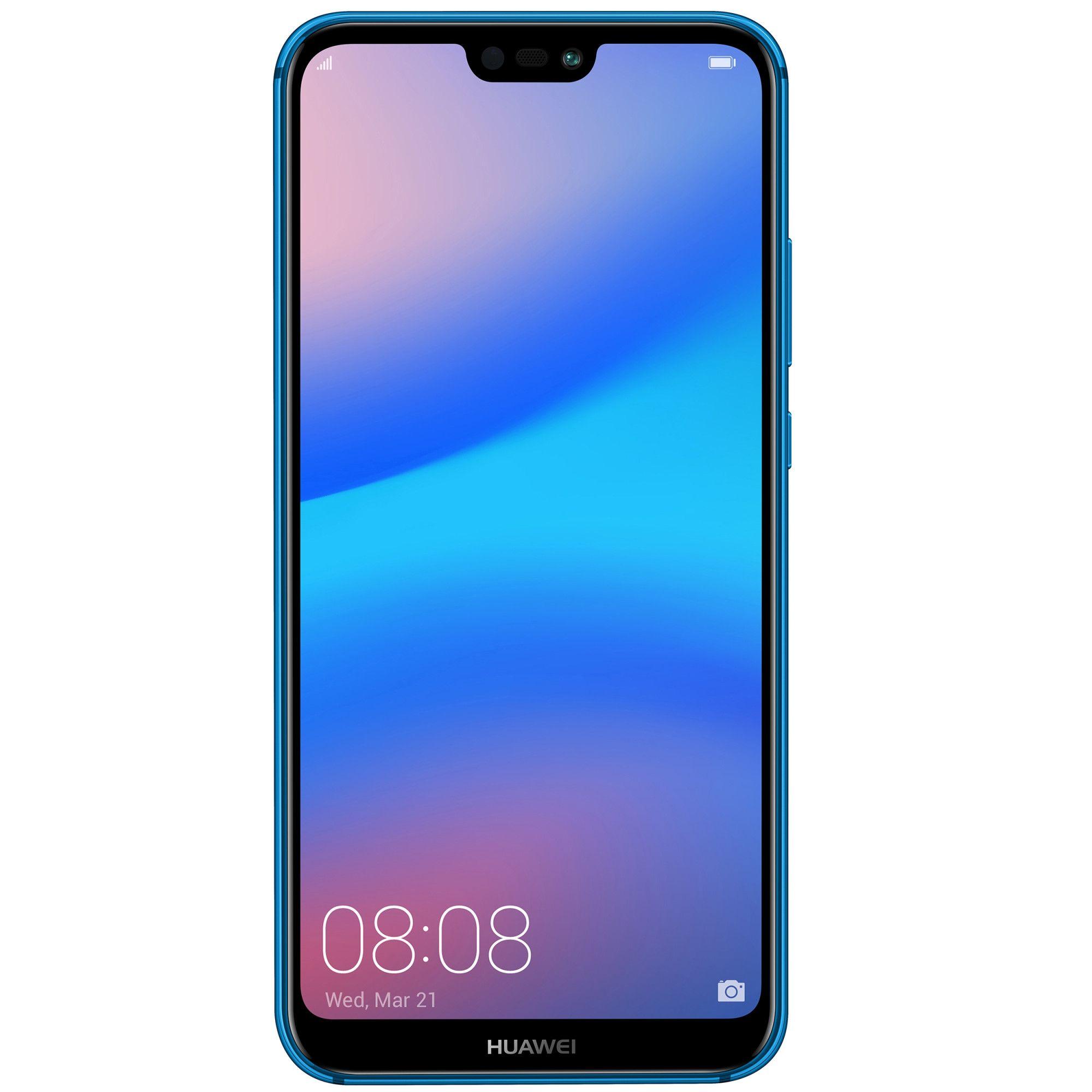 Telefon Mobil Huawei P20 Lite 64GB Flash 4GB RAM Dual SIM 4G Klein Blue