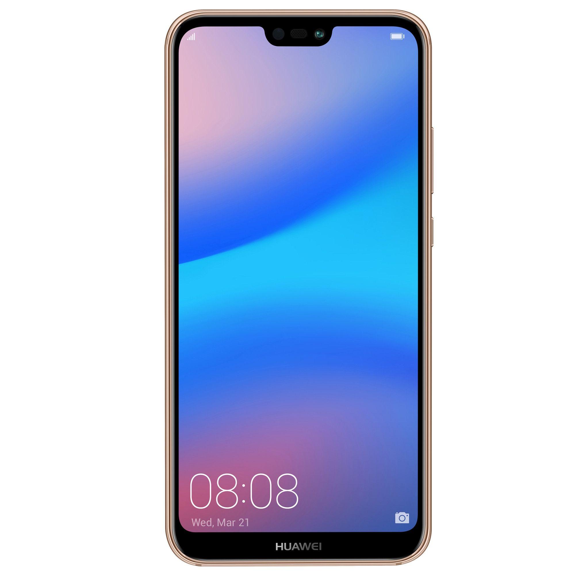 Telefon Mobil Huawei P20 Lite 64GB Flash 4GB RAM Dual SIM 4G Sakura Pink