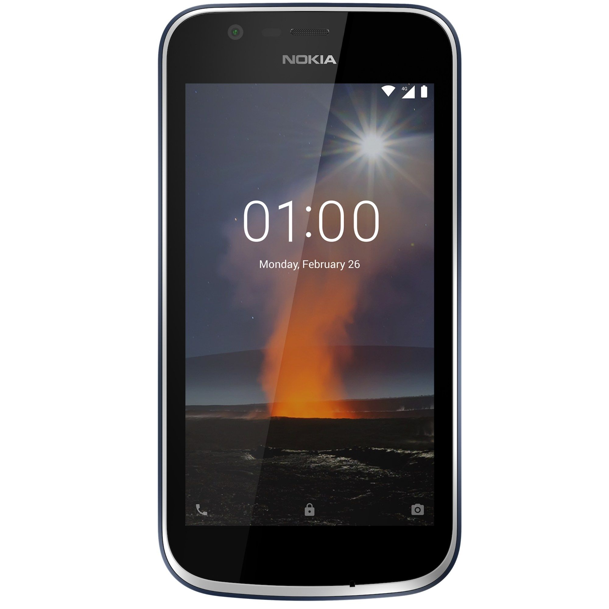 Telefon Mobil Nokia 1 8GB Flash 1GB RAM Dual SIM 4G Dark Blue
