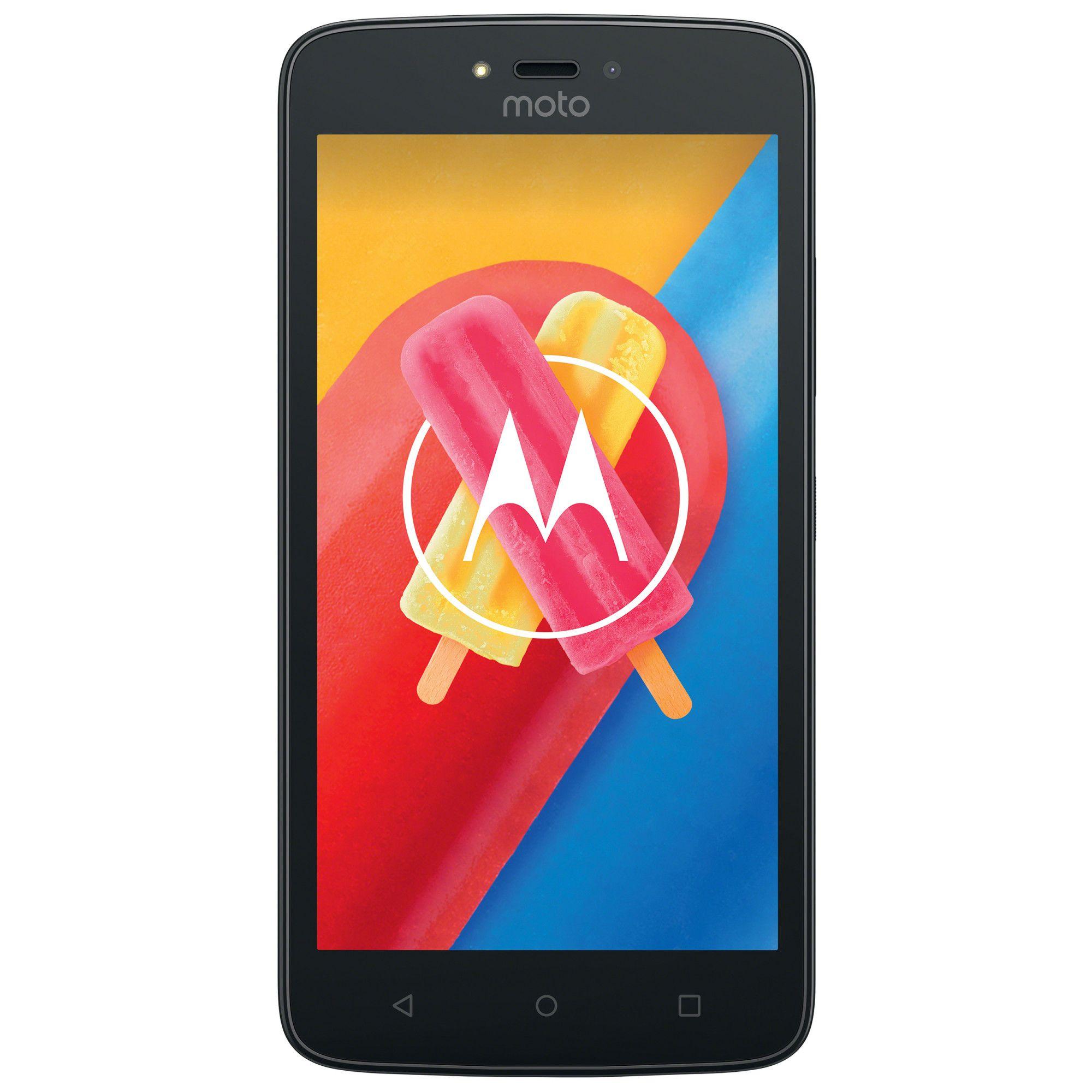 Telefon Mobil Motorola Moto C 8GB Flash 1GB RAM Dual SIM 4G Gold