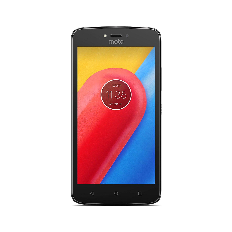Telefon Mobil Motorola Moto C 8GB Flash 1GB RAM Dual SIM 4G Red