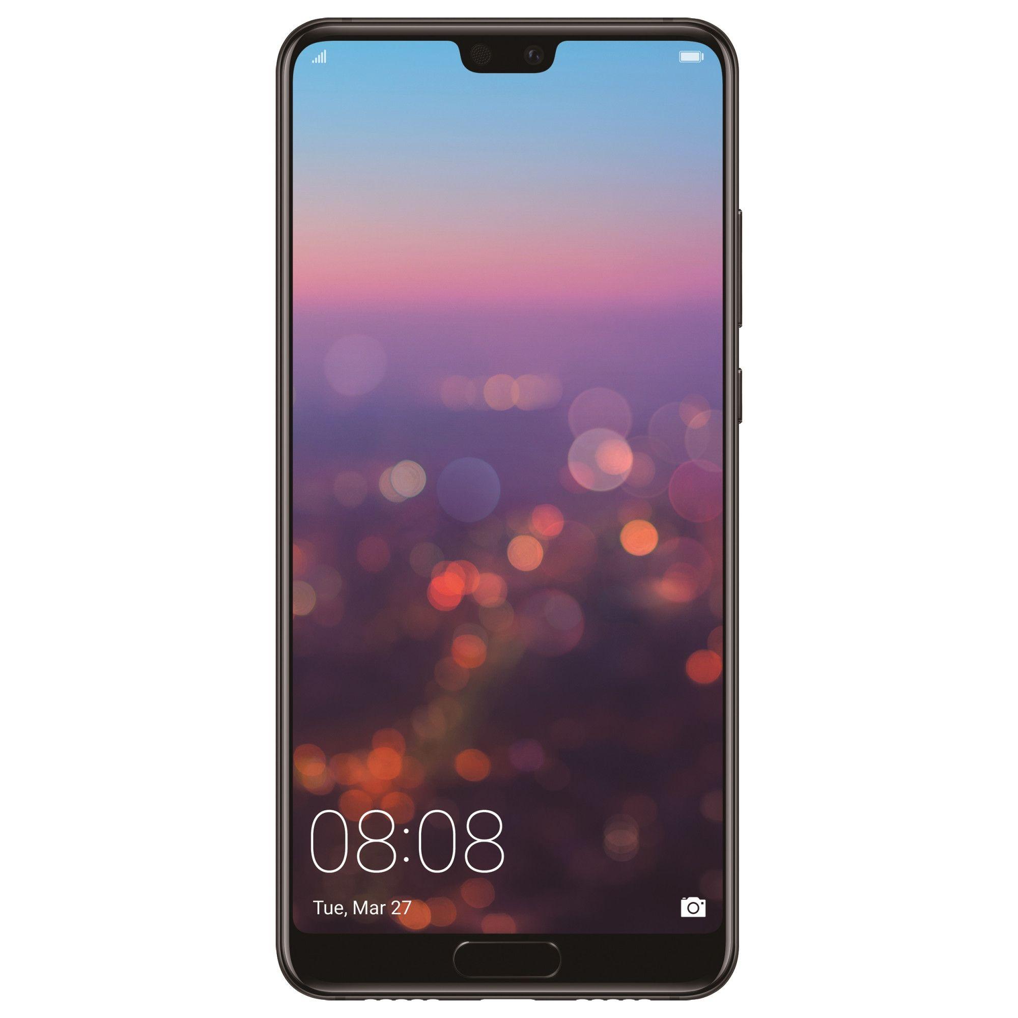 Telefon Mobil Huawei P20 64GB Flash 4GB RAM Dual SIM 4G Midnight Black