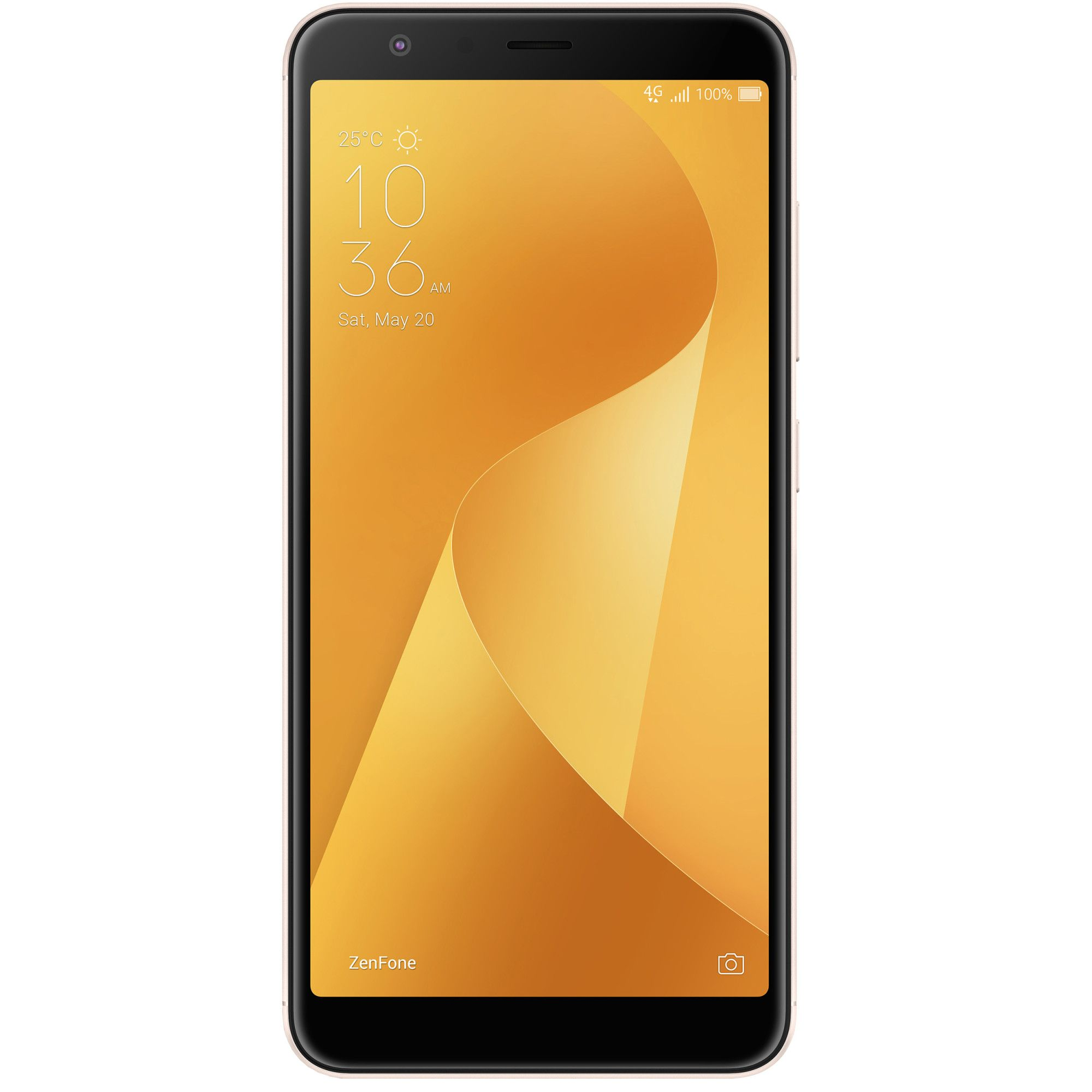 Telefon Mobil Asus ZenFone Max Plus M1 ZB570TL 32GB Flash 3GB RAM Dual SIM Sunlight Gold