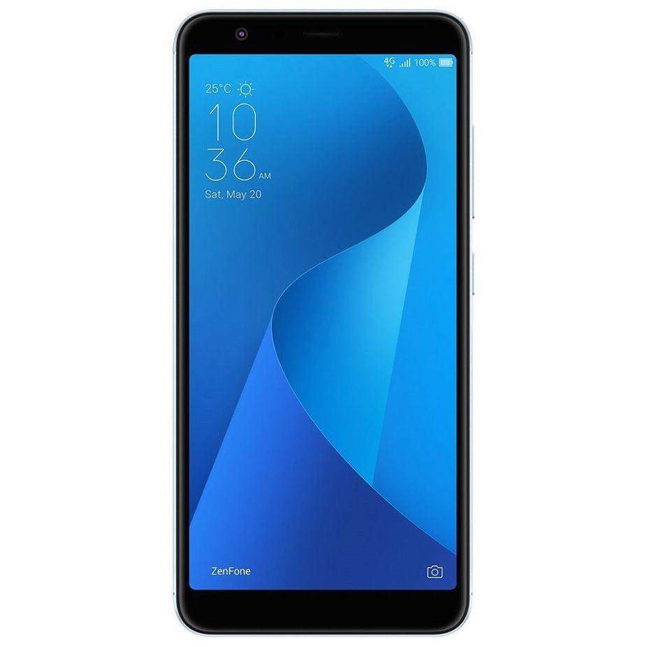 Telefon Mobil Asus ZenFone Max Plus M1 ZB570TL 32GB Flash 3GB RAM Dual SIM Azure Silver