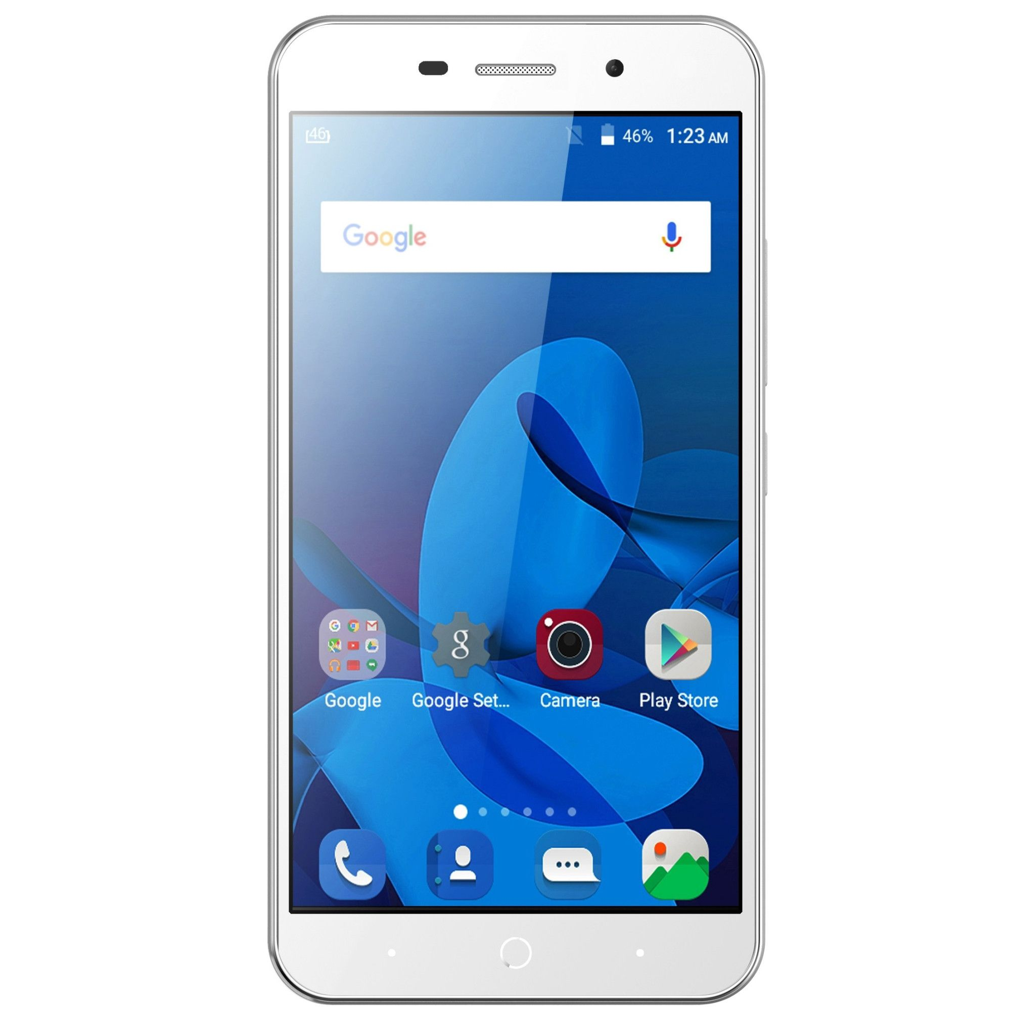 Telefon Mobil ZTE Blade A602 16GB Flash 1GB RAM Dual SIM 4G Silver