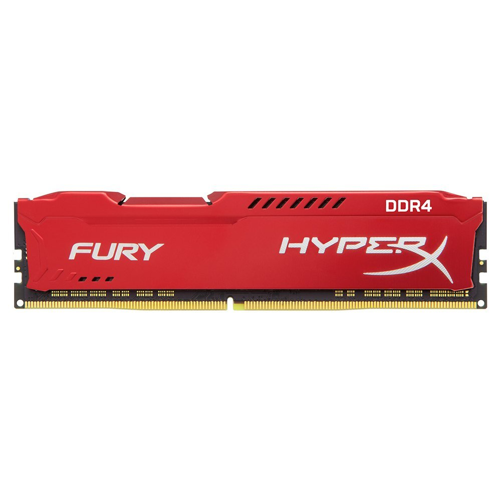 Memorie Desktop Kingston HX426C16FR2/8 8GB DDR4 2666MHz Red