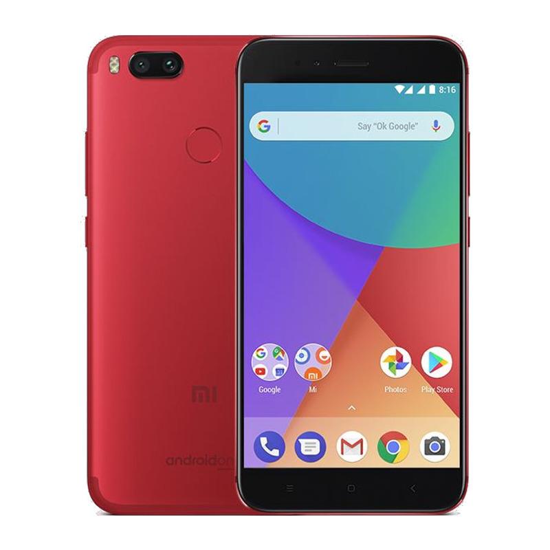 Telefon Mobil Xiaomi A1 32GB Flash 4GB RAM Dual SIM 4G Red
