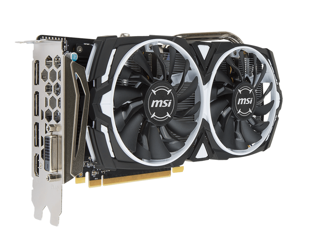 Placa Video MSI Radeon RX 570 ARMOR 8G OC 8GB GDDR5 256 biti