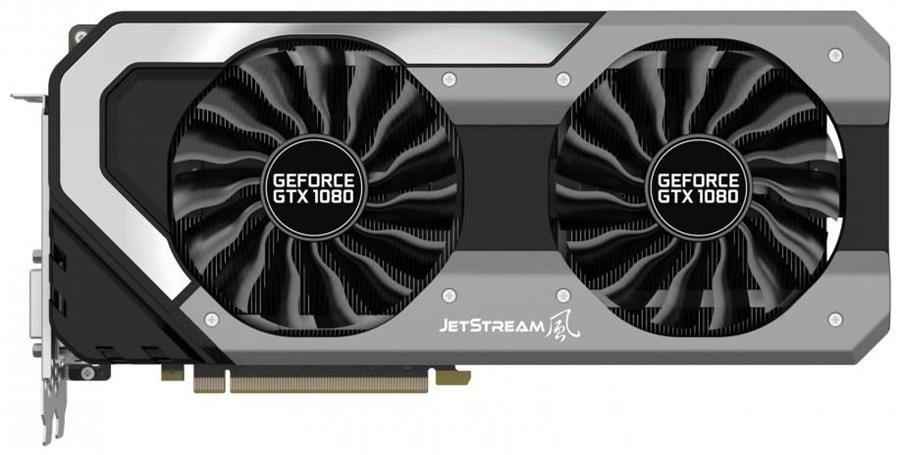 Placa Video Palit GeForce GTX 1080 Super JetStream 8GB GDDR5X 256 biti